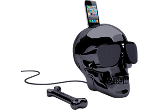 JARRE AEROSKULL HD+ - Altoparlanti dock (Chrome Black)