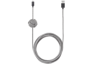 NATIVE UNION UNION Night Cable - Lightning Kabel (Grau)