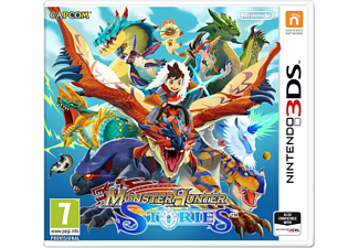 3DS - Monster Hunter Stories /F