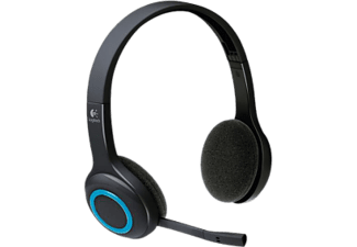 LOGITECH H600 - Cuffie con microfono (Wireless, Binaurale, On-ear, Nero)