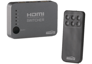 MARMITEK CONNECT 350 UHD - HDMI-Switch (Schwarz)