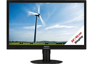 "PHILIPS 241S4LCB/00 - Monitor (24 "", Full-HD, Schwarz)"