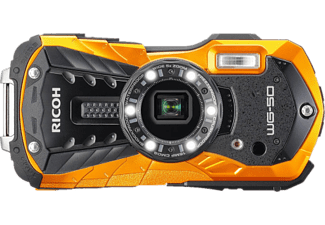 RICOH WG-50 - Appareil photo compact (Résolution photo effective: 16 MP) Orange