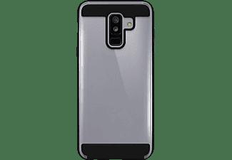 BLACK ROCK Cover Air Protect, Backcover, Samsung, Galaxy A6+ (2018), Schwarz