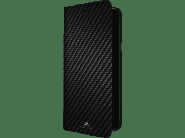 BLACK ROCK Booklet Flex Carbon , Bookcover, Samsung, Galaxy J6 (2018), Polyurethan, Schwarz