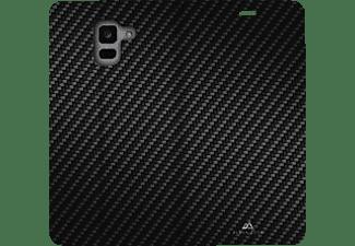 BLACK ROCK Booklet Flex Carbon, Bookcover, Samsung, Galaxy J6 (2018), Schwarz
