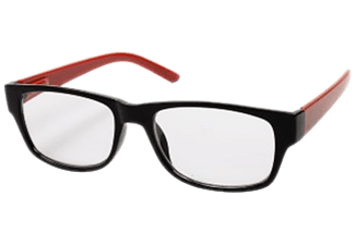 HAMA 96269 READ GLASSES +3.0D BLACK/RED - Lunettes de lecture
