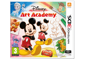 3DS - Disney Art Academy /D