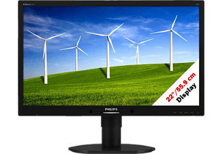 "PHILIPS 220B4LPYCB/00 - Moniteur (22 "", Full-HD+, 75 Hz, Noir)"