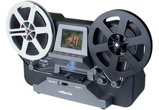 REFLECTA Super 8 / Normal 8 Scanner - Scanner de film (Gris)