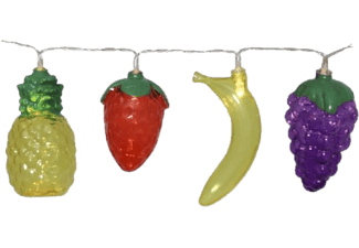 STAR TRADING Light Chain Fruits - Catena luminosa a LED