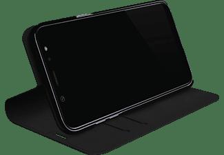 BLACK ROCK Booklet The Standard, Bookcover, Samsung, Galaxy A6+ (2018), Schwarz