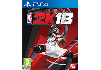 PS4 - NBA 2K18 - Legend Edition /D