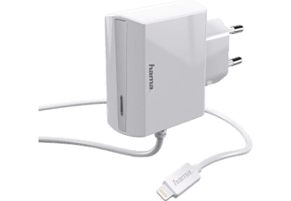 HAMA Ladegerät - Wall Charger (Weiss)