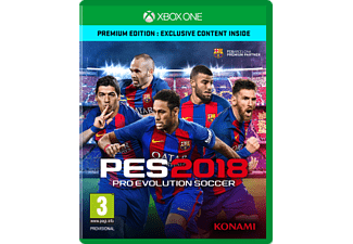 Xbox One - PES 2018 - Pro Evolution Soccer - Premium Edition /D/F