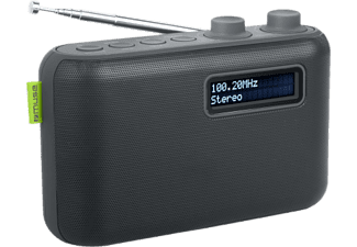MUSE M-108 DB - Digitalradio (DAB+, FM, Schwarz)