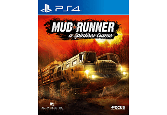 PS4 - Spintires Mudrunner /D