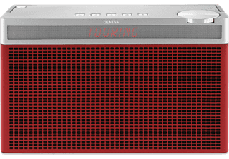 GENEVA Touring L - Digitalradio (DAB+, FM, Rot)