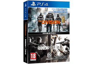 PS4 - Rainbow Six Siege+Division /Multilingue