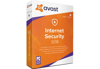 PC - avast Internet Security 2018 - 1 PC /D