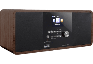 IMPERIAL Dabman i250 - Digitalradio (DAB+, FM, Internet radio, Holz)