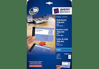 Avery Zweckform C32015 25 Visitenkarten White Visitenkarte Papier