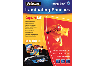 FELLOWES Pouches, A4, 125 micron, cf. 25 - -