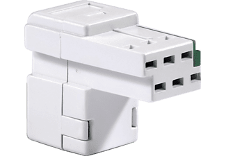 HAMA 979 ADAPTER T&T/RJ45 - Spina T+T (Bianco)