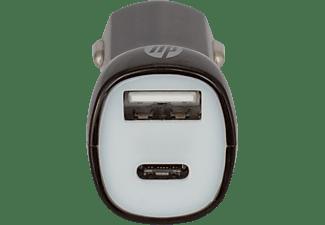 HP USB-C™ mit Power Delivery KFZ-Ladegerät Universal, Schwarz