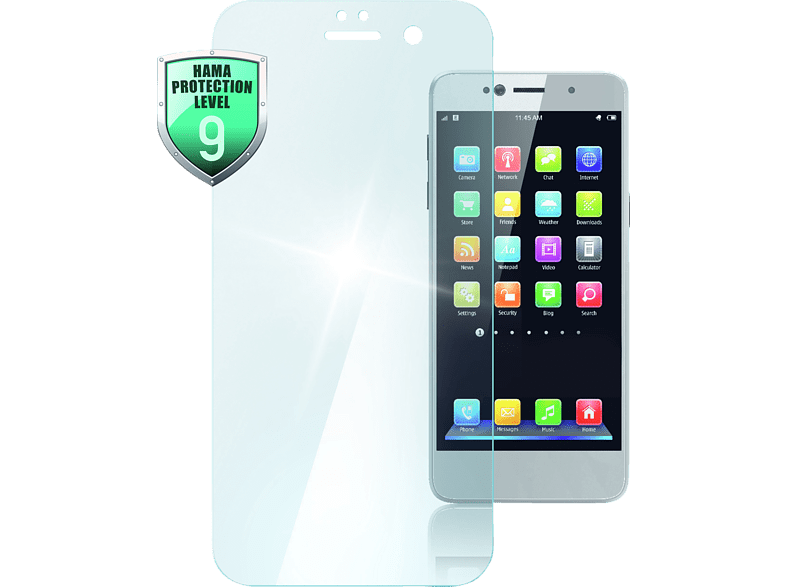 HAMA Premium Crystal Glass Schutzglas (Huawei P20 Pro )