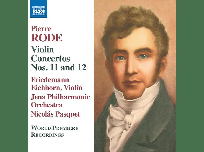 Friedemann Eichhorn, Nicolas Pasquet, Jena Philharmonic Orchestra - Violinkonzerte 11+12 [CD]