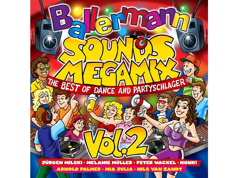 VARIOUS - Ballermann Sounds Megamix Vol.2- [CD]