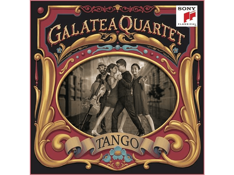 Galatea Quartet - Tango-Argentinian Tangos arr.for String Quartet [CD]