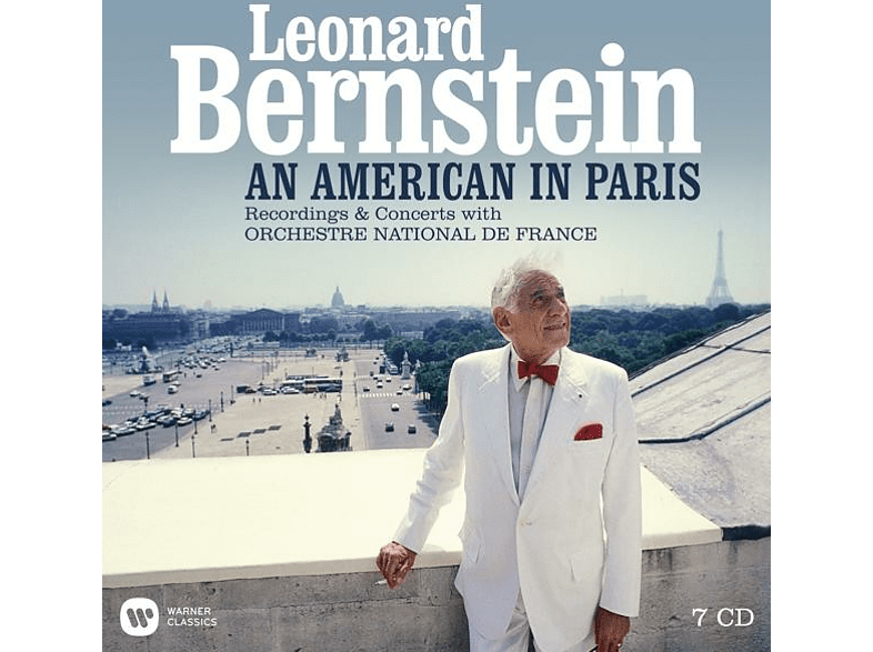 Orchestre National De France - Bernstein-An American in Paris-Rec.with ONF [CD]