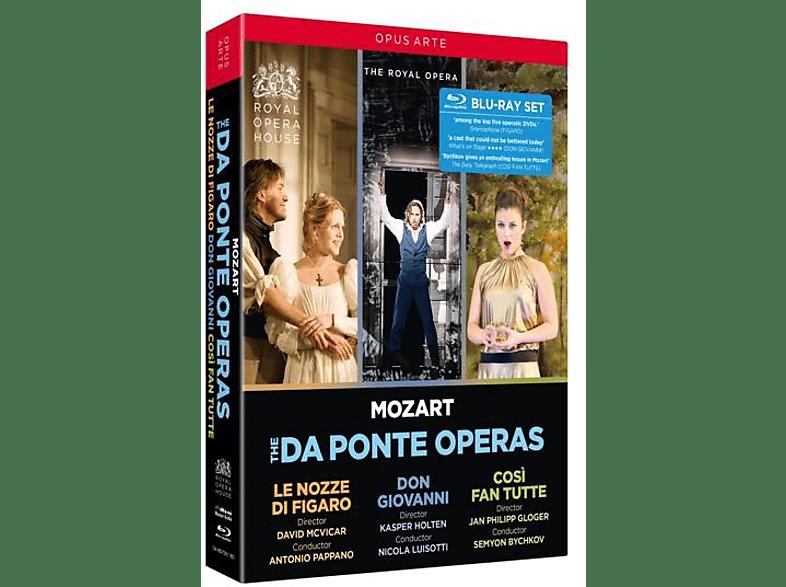 The Royal Opera House Nicola Luisot - Mozart: Da Ponte Opern [Blu-ray]