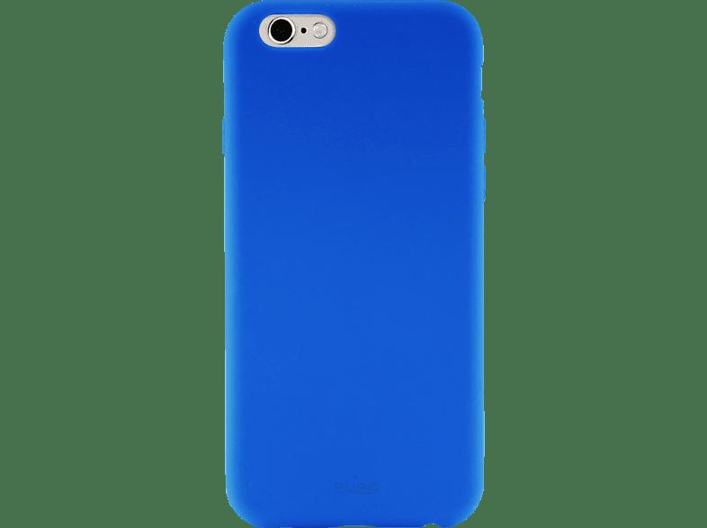 PURO Puro Silicon Cover , Backcover, Apple, iPhone 6/ iPhone 6s/ iPhone 7/ iPhone 8, Silikon, Blau