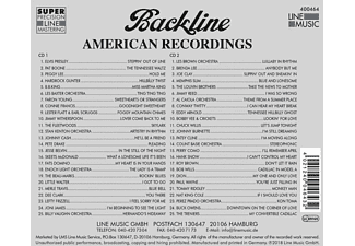 VARIOUS - Backline Vol.464  - (CD)