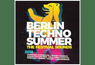 VARIOUS - Berlin Techno Summer 2018 The Festival Sounds  - (CD)