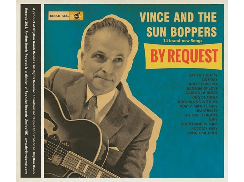 "Vince And The Sun Boppers - By Request (Lim.Ed.10"") [Vinyl]"