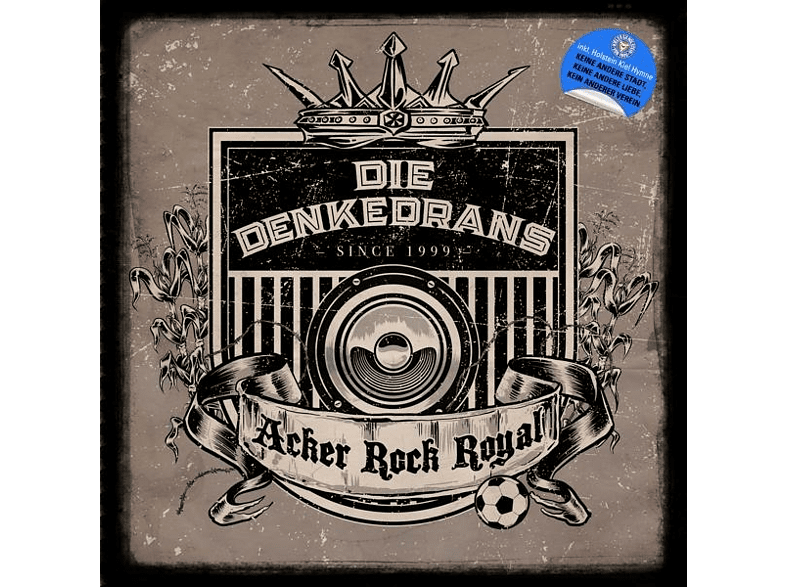 Die Denkedrans - Acker Rock Royal (Digipak) [CD]