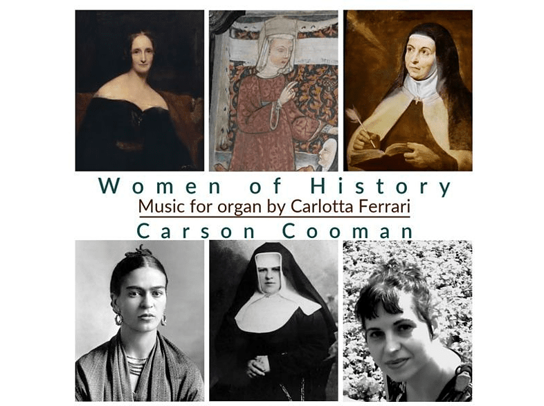 Carson Cooman - Women of History [CD]