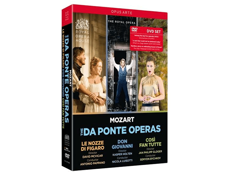 VARIOUS, Orchestra Of The Royal Opera House, Royal Opera Chorus - Mozart: Da Ponte Opern [DVD]