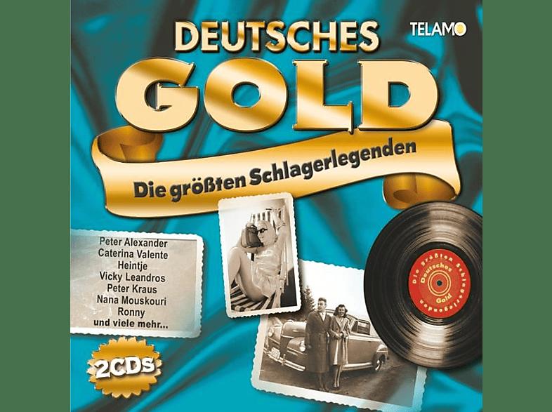 Various - Deutsches Gold-Die größten Schlagerlegenden [CD]