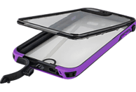 HAMA Outdoor-Box Aqua , Flip Cover, Apple, iPhone 7 Plus / iPhone 8 Plus, Kunststoff/Polycarbonat/Silikon/Thermoplastisches Polyurethan, Lila