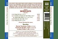 Harriet Mackenzie, Graham Walker, Sarah-jane Bradley - STREICHTRIOS-SOLOWERKE [CD]