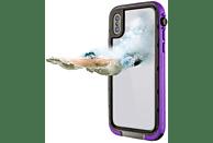 HAMA Outdoor-Box Aqua , Flip Cover, Apple, iPhone X, Kunststoff/Polycarbonat/Silikon/Thermoplastisches Polyurethan, Lila
