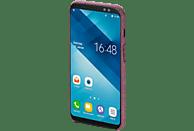 HAMA Cozy , Backcover, Samsung, Galaxy A6+ (2018), Silikon / Textilbezug, Pink