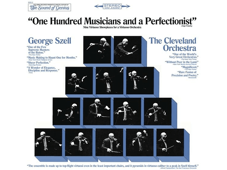 George Szell, The Cleveland Orchestra - ONE HUNDRED MUSICIANS AND A PERFECTIONIST [CD]