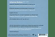 Peter Nagy, Claudio Bohorquez - Brahms Cello Sonatas [CD]