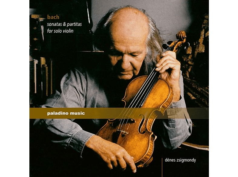 Denes Zsigmondy - Sonaten & Partiten für Solo Violine [CD]